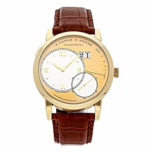 A. Lange & Sohne Lange 1 mechanical-hand-wind mens Watch 115.021 (Certified Pre-owned)