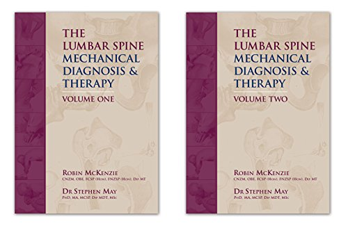 The Lumbar Spine: Mechanical Diagnosis & Therapy, 2 Vol Set - Mckenzie Spine Lumbar