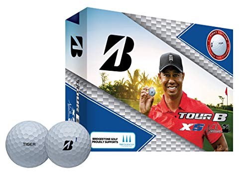Bridgestone Tour B XS Tiger Woods Edition Golf Balls, Packaging may vary
