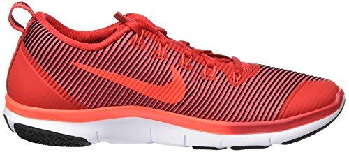 Nike Herren Free Train Versatility Hallenschuhe Rot (Total Crimson/Gym Red/White/Black)