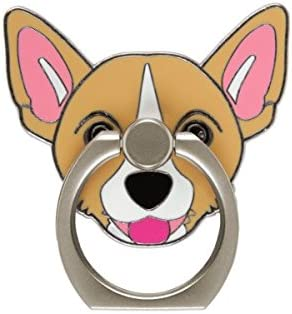 Shiba Inu,Corgi Phone Ring Holder Stand,Dog Phone Ring Stand Holder 360 Rotation Finger Ring Grip Stand for Cellphones,Smartphones and Tablets