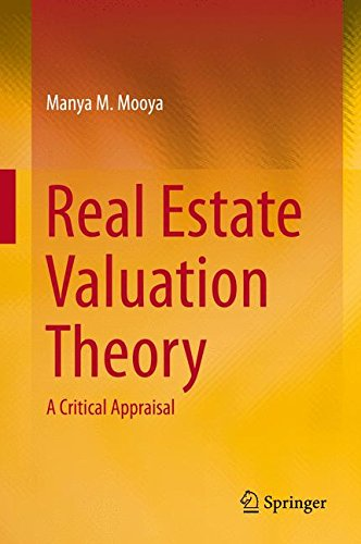 Real Estate Valuation Theory: A Critical Appraisal