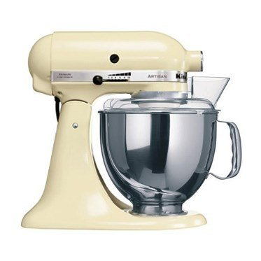 Kitchen Aid 5KSM150 Stand Mixer Almond Cream - 220 Volts Only! Will Not Work In The USA