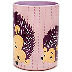 Kitsch'n Glam Pink Hedgehog Coffee Mug