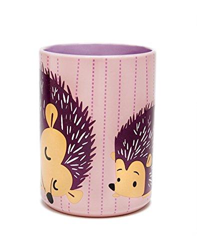 Kitsch'n Glam - Coffee Mug - Hedgehog - Pink