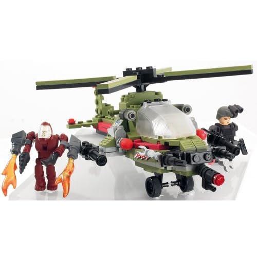 Kre-O 389541480 - Jeu de Construction - Battleship - Hélicoptère Combat Chopper