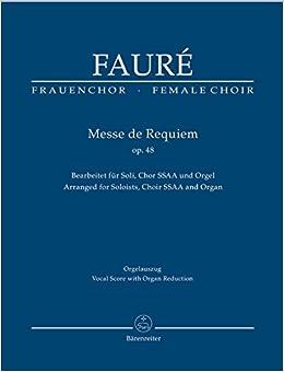 VOCAL SCORE Messe De Requiem