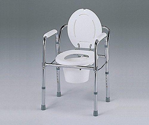 ナビス(アズワン)0-667-01便器椅子(折りたたみ式)530×460×660~760mm B07BD34TKB