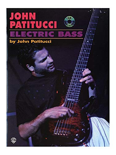 John Patitucci: Electric Bass. Partituras, CD para Guitarra Bajo ...