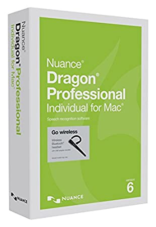 Dragon Professional Individual for Mac 6.0, with Bluetooth Headset