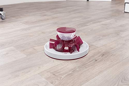 TRIXIE Tunnel Self Feeder pour chats Multicolored