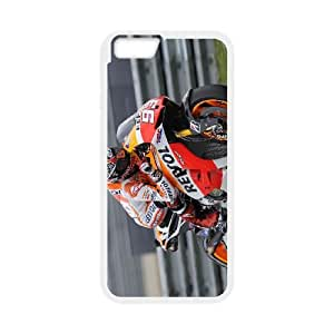 Marc Marquez iPhone 6 Plus 5.5 Inch Cell Phone Case White F9823505