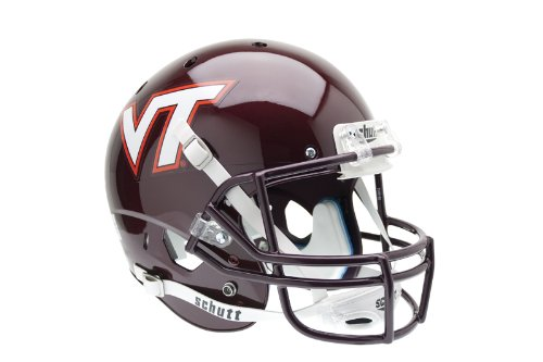 NCAA Virginia Tech Hokies Replica XP Helmet - Tech Hokies Authentic Football Helmet