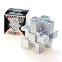 2015 Newest ShengShou 3 x 3 Silver Mirror Cube Puzzle White