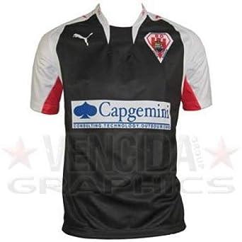 PUMA biarritz cambio camiseta de rugby 08 - Negro, Mediana, Mediana: Amazon.es: Deportes y aire libre