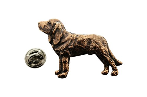 Bloodhound Pin (Bloodhound Pin ~ Antiqued Copper ~ Lapel Pin ~ Sarah's Treats & Treasures)