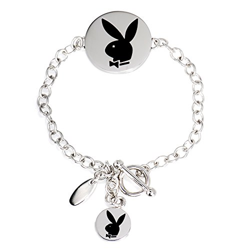 Playboy Bunny Circle Logo Pendant - Circles Playboy
