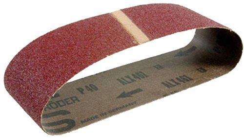 Hitachi 995561 4-Inch by 24-Inch Sanding Belt with AA100 Grit for the SB10T, 10-Pack