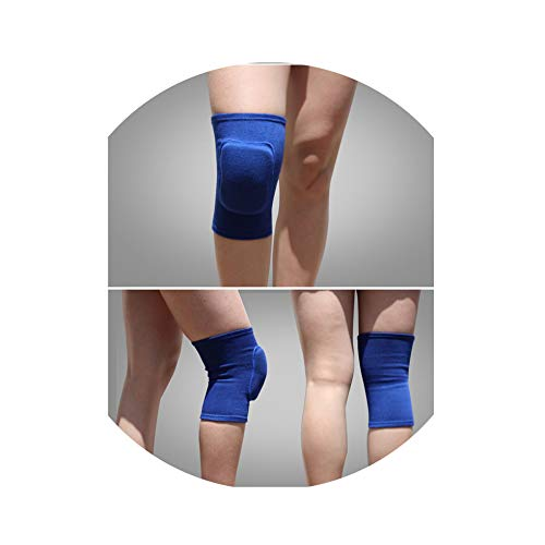 - Sweetest-Thing Knee Brace,1 Pcs Football Volleyball Knee Pads Knee Support Training Protection,Blue,S