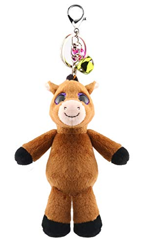 (Ice King Bear Plush Pony Stuffed Animal Toy - Cute Brown Soft Horse (5.5 Inches))
