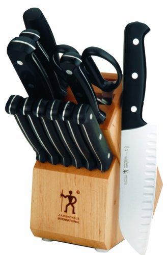 Fine Edge Cutlery Set - International Fine Edge Pro 13 Piece Block Cutlery Set