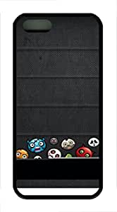 iPhone 5 5S Case Shelf 40 TPU Custom iPhone 5 5S Case Cover Black