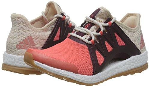adidas Pureboost Xpose Clima, Chaussures de Course Femme, Orange (Arancione Corsen/Lino/Granat), 39 EU