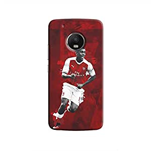 Cover It Up - Alex Iwobi Red Moto G5 Hard Case
