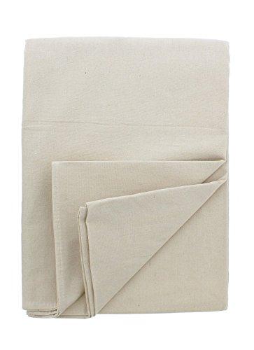 Cotton Duck Light - Goza Cotton Canvas Drop Cloth (9 x 12) - % 100 Cotton, Duck Canvas, Medium Weight, All Purpose