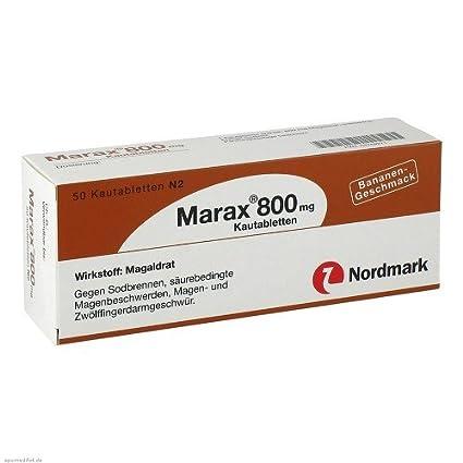 MARAX 800 comprimidos masticables 50 ST comprimidos masticables