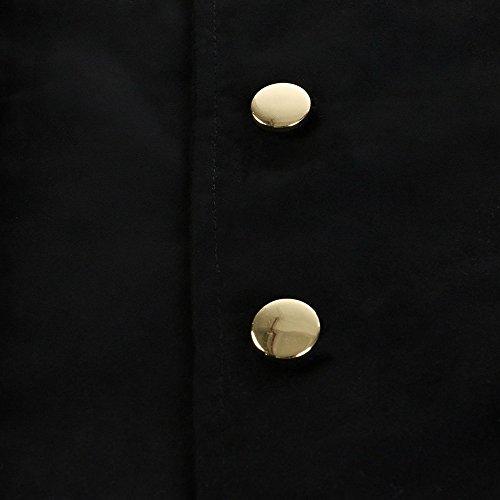 Manteau Steampunk Haut Jacket Cosplay Noir Gothique Homme Tuxedo Veste Vintage Party Blazer Uniforme Militaire Long Costume Vertvie Soirée xCfYwE