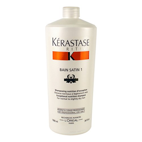 (Kerastase Nutritive Bain Satin 1 Exceptional Nutrition Shampoo (For Normal to Slightly Dry Hair))