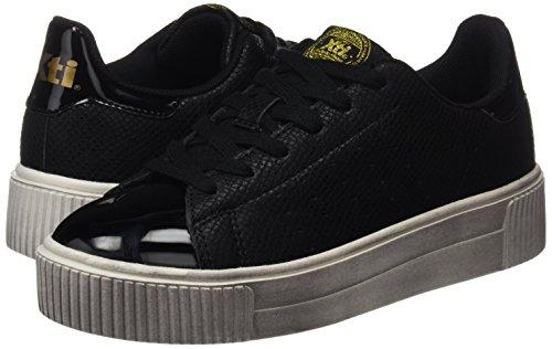 Noir Xti black Baskets Black Femme 047507 AYcOfRTa