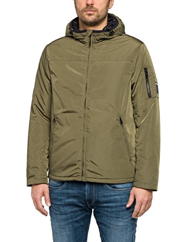 Verde Green 962 military Replay Uomo Giacca wHYnFq1T