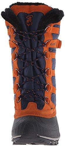 Kamik SNOWVALLEY - botas de nieve de material sintético mujer azul - Blau (NAVY- BLEU / NAV)