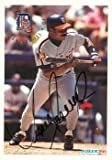 Juan Samuel autographed Baseball Card (Detroit Tigers) 1994 Fleer #U46