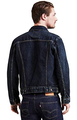 Levi's Bleu 0309 Blouson barrow The Jacket Trucker Homme Lagune qrqpXx