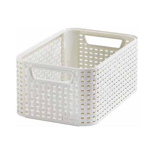 Curver 205825 Style Box Rattan-Effect, S
