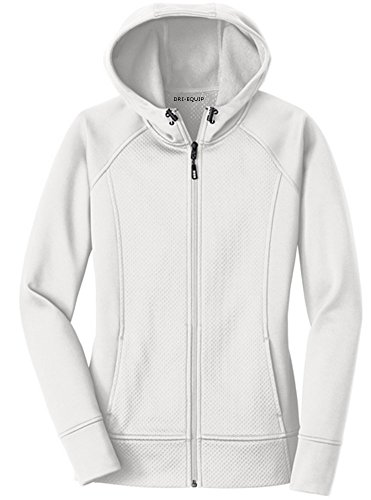 Joe's USA Dri-Equip -Ladies Rival Tech Fleece Full-Zip Hoode