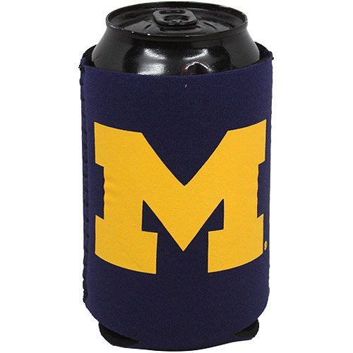 Michigan Wolverines Ncaa Collapsible - NCAA Michigan Wolverines Collapsible Can Holder