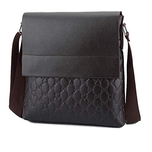 de los PU los Career Brown de Marrón la compras formal Black hacer para Office Bolso Crossbody hombres amp; de de bolsos nzBq8xT