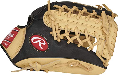 11.5 Left Hand Throw - Rawlings Prodigy Series Baseball Glove, Modified Trap-Eze Web, 11.5 inch, Left Hand Throw