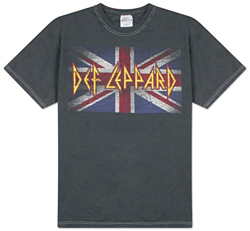 Def Leppard - Vintage Jack Overdye T-Shirt Size XL (80s Clothing For Men)