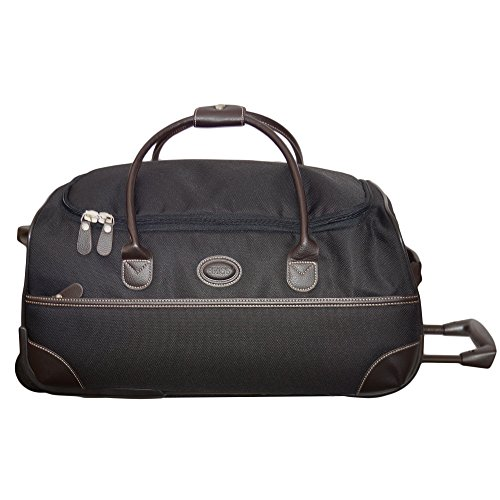 Bric's Luggage Pronto 21 Inch Rolling Duffle, Black, One Size by Bric's