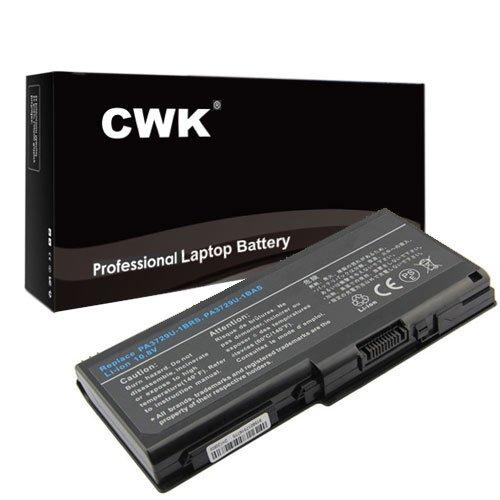 Qosmio Laptop Notebooks - CWK Long Life Replacement Laptop Notebook Battery for Toshiba Qosmio 90LW 97K 97L G60 G65 G65W PA3729U 6C PA3729U-1BAS PA3729U-1BRS PA3730U-1BAS PA3730U-1BRS X500 Series PA3729U-1BAS