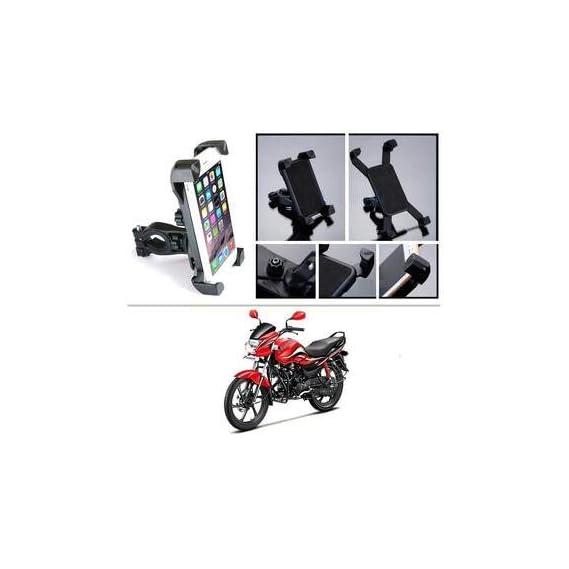 SYSTEM BREAKER 4 4 4. Bike Holder 360 Degree Universal Rotating Bike Holder Motorcycle Cell Phone Cradle Mount Holder