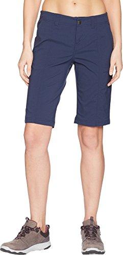 Royal Robbins Women's Discovery Iii Bermuda Shorts, Deep Blue, Size 4