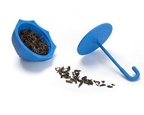 RICISUNG Blue Umbrella Herbal Leaf Tea Infuser