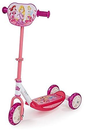 Smoby- Patinete con 3 Ruedas, diseño Princesas (Simba Toys 750153)