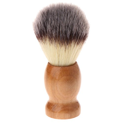 puhoon Shaving Brushes, Imitation Badgers Hair Removal Beard Shaving Brush Men Shave Cosmetic Tool, Engineered for the Best Shave, for Safety All Razor, 22#